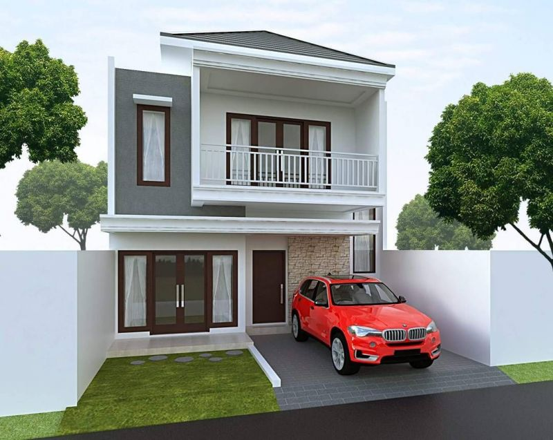 Biaya Meningkat Rumah 2 Lantai Jakarta Selatan