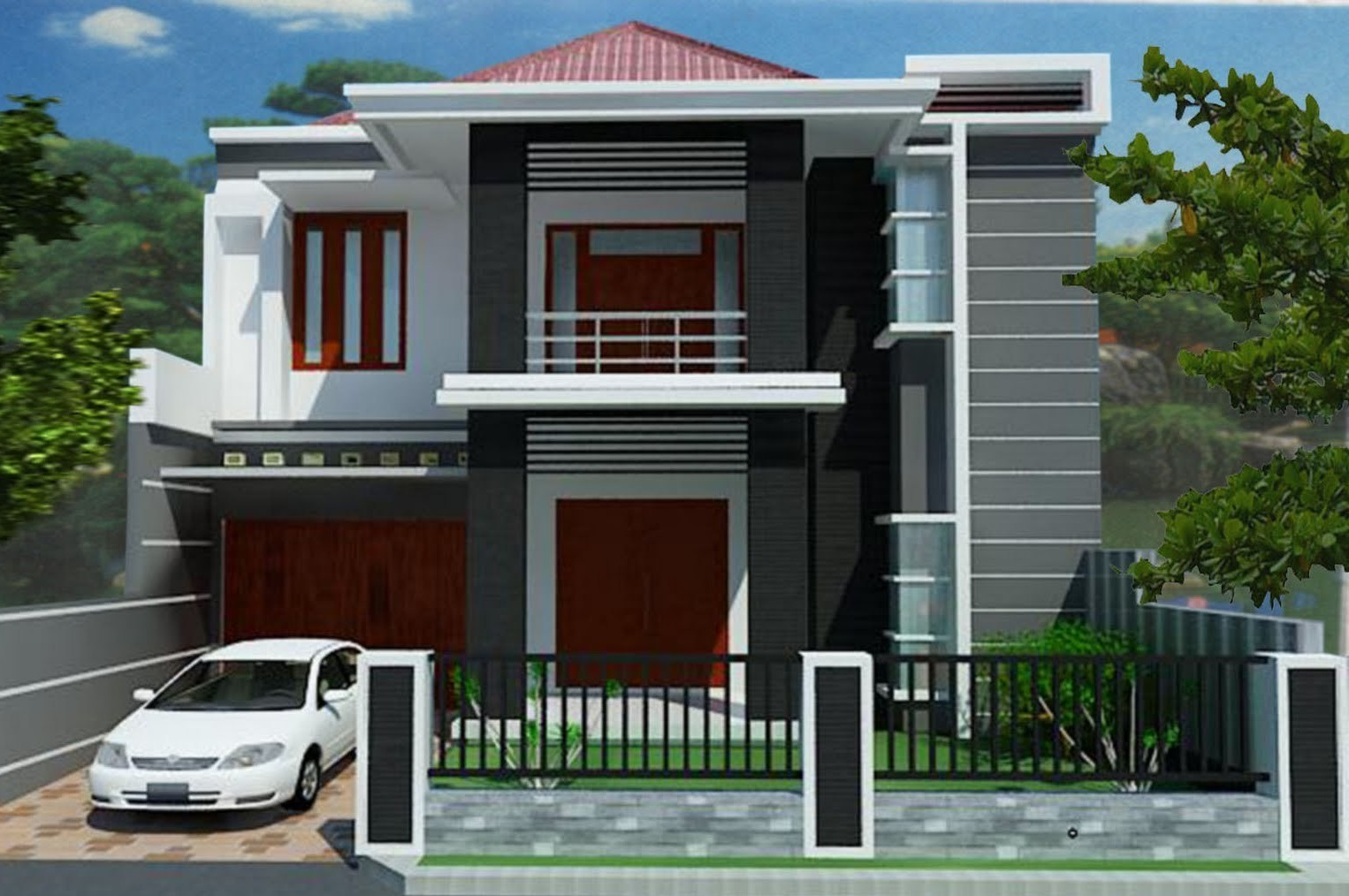 Biaya Meningkat Rumah 2 Lantai Jakarta